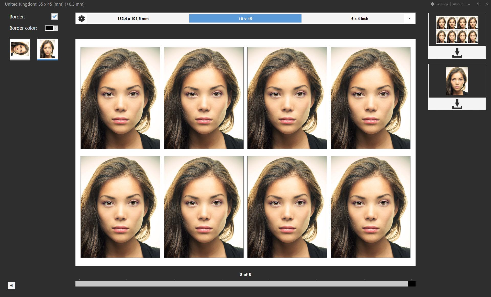 Codenia Passport Photo Add On For Adobe Photoshop And Adobe Lightroom